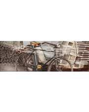 DEKOR SZKLANY BICYCLE VINTAGE 30,2X86,2